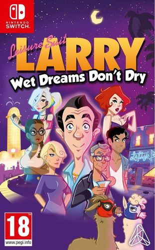 Leisure Suit: Larry - Wet Dreams Don't Dry SWITCH