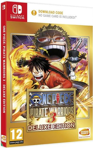 One Piece Pirate Warriors 3 (Code in a Box) SWITCH