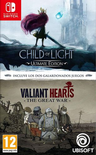 Child of Light + Valiant Hearts The Great War SWITCH