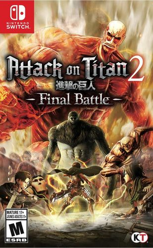Attack on Titan 2: Final Battle SWITCH