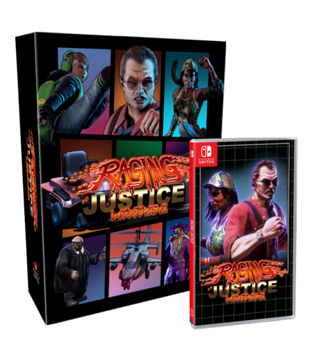 Raging Justice Collectors Edition SWITCH