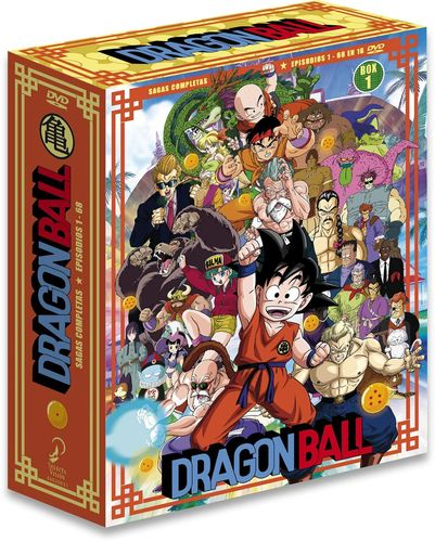 Dragon Ball Nueva Edicion Box 1 DVD