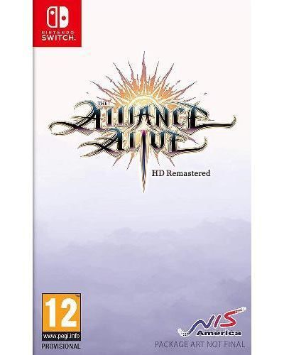 The Alliance Alive HD Remastered Awakening Edition SWITCH