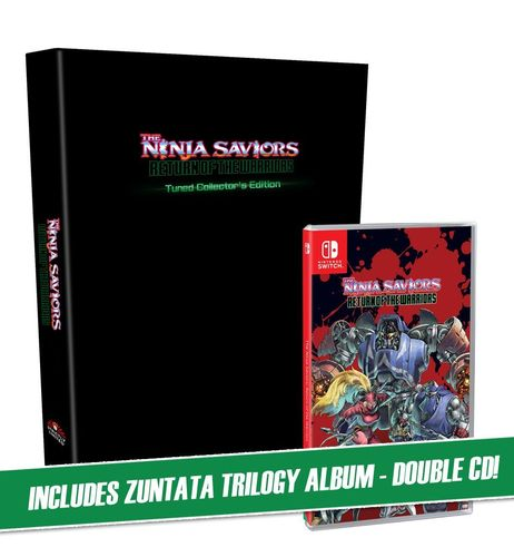 The Ninja Saviors: Return of the Warriors Tuned Collectors Edition SWITCH