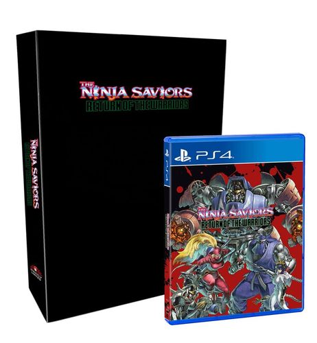 The Ninja Saviors: Return of the Warriors Collectors Edition PS4