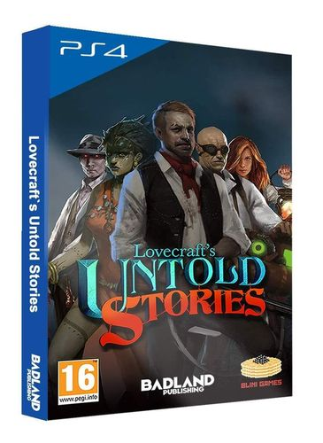 Lovecrafts Untold Stories Collectors Edition PS4