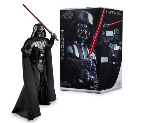 Figura Darth Vader Hyper RealThe Black Series