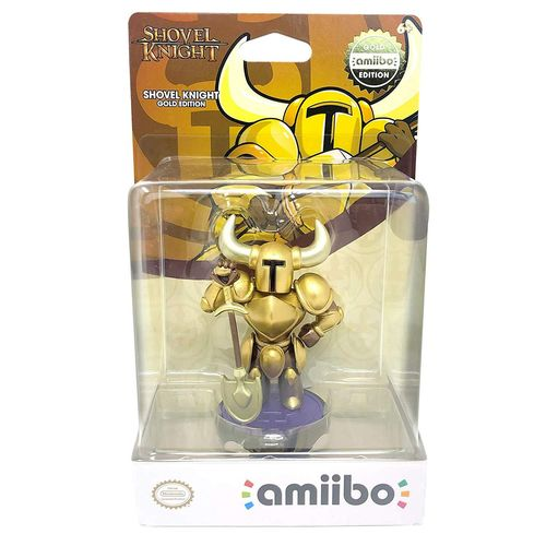 Amiibo Shovel Knight Treasure Dorado - Hybrid