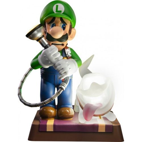 Figura Luigi y Polterpup Luigis Mansion 3 Collector