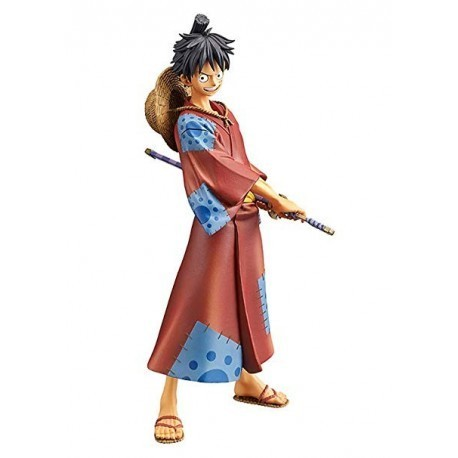 Figura Monkey D. Luffy Wanokuni Grandline Men