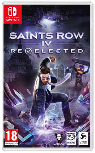 Saints Row IV Re-Elected SWITCH