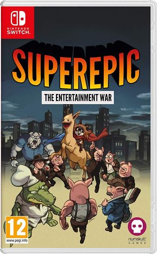 SuperEpic: The Entertainment War SWITCH