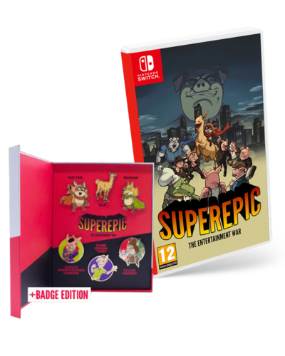SuperEpic: The Entertainment War Collector Edition SWITCH