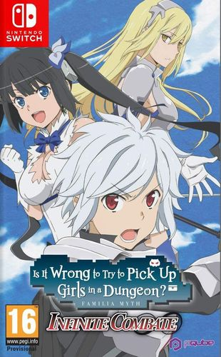 Is It Wrong to Try to Pick Up Girls in a Dungeon? Infinite Combate SWITCH