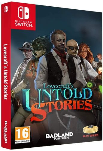 Lovecrafts Untold Stories Collectors Edition SWITCH