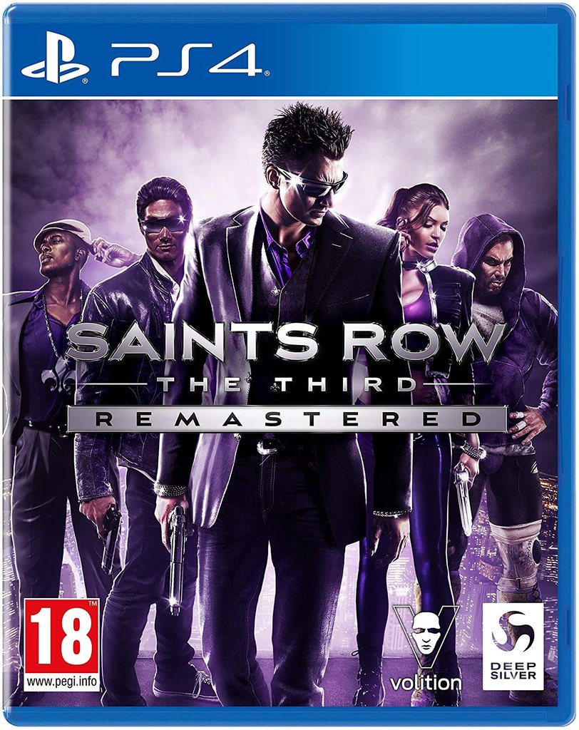 Saints Row The Third Remaster PS4