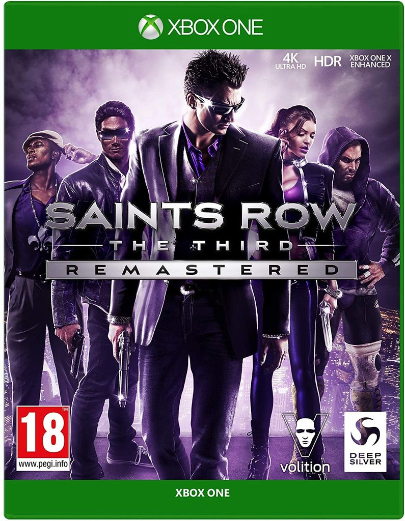 Saints Row The Third Remaster XBOX ONE