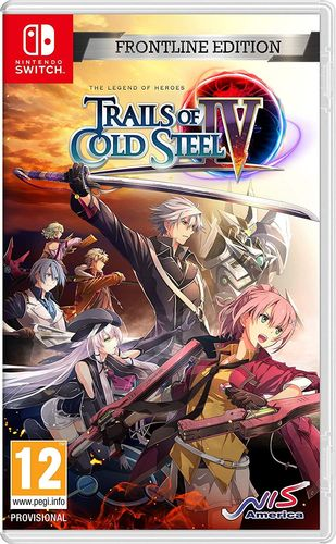 The Legend of Heroes: Trails of Cold Steel IV - Frontline Edition SWITCH