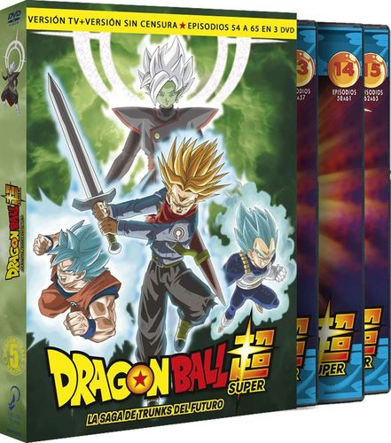 Dragon Ball Super Volumen 5 DVD