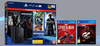 Consola PS4 PRO 1TB + Marvel's Spiderman + GT Sport + The Last of Us + Pack 5 Uncharted