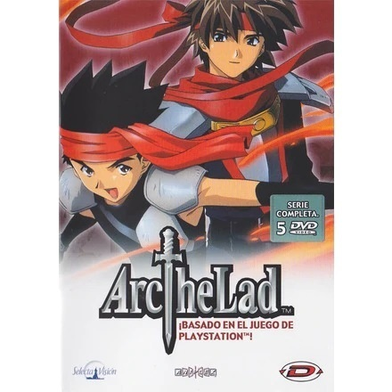 Arc the Lad Serie Completa DVD