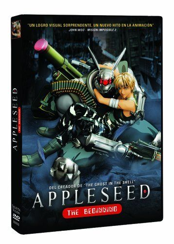 Appleseed The Beginning DVD
