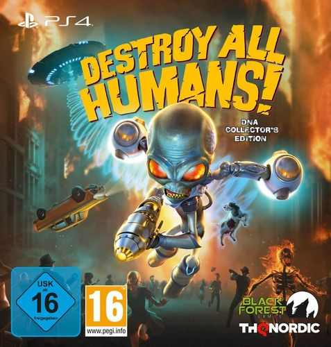 Destroy All Humans! DNA Collectors Edition PS4