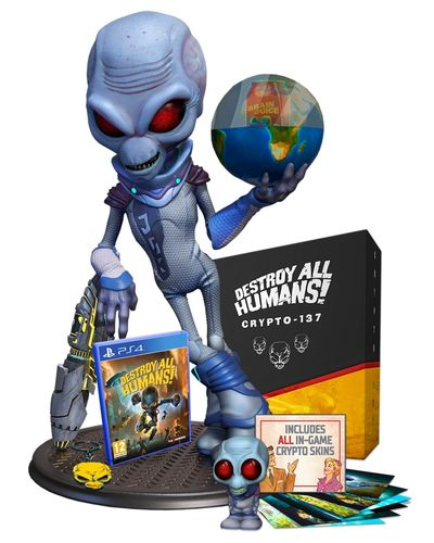 Destroy All Humans! Crypto-137 Edition PS4