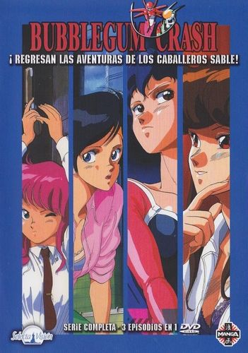 Bubblegum Crash (Serie Completa) DVD