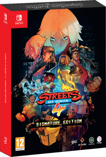 Streets of Rage 4 Signature Edition SWITCH