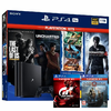 Consola PS4 PRO 1TB + God of War + GT Sport + The Last of Us + Pack 5 Uncharted
