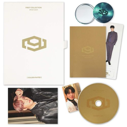 SF9 FIRST COLLECTION Golden Rated Version