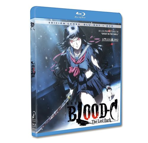 Blood-C The Last Dark - Combo Blu-Ray + DVD