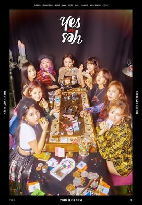 TWICE 6th Mini Album - Yes or Yes V.A.