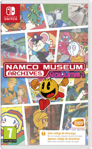 Namco Museum Archives Volumen 1 SWITCH