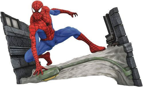 Figura Spiderman Webbing Diorama Gallery Diamond Select