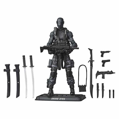 Figura Snake Eyes GIJOE Retro Series