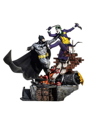 Figura Batman vs Joker Diorama Iron Studios 1/6