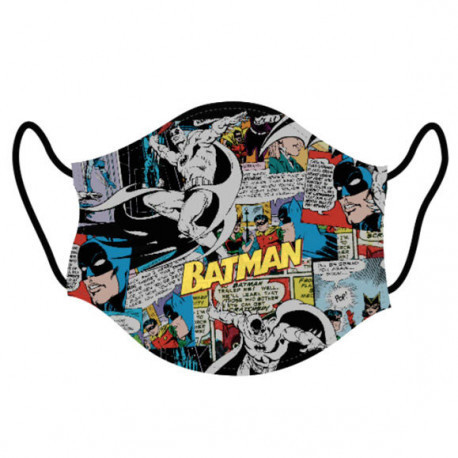 Mascarilla Batman Comic Talla L