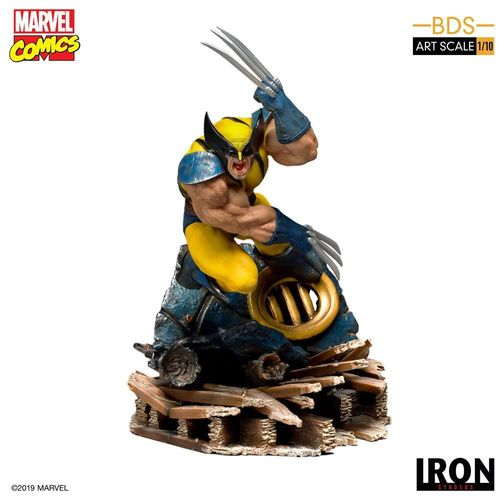 Figura Wolverine/Lobezno X-Men The Animated Series Iron Studios 1/10
