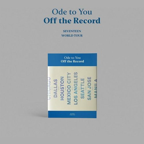 SEVENTEEN Ode to You, Off the Record (2019 World Tour Photobook)