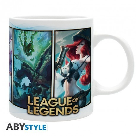 Taza League of Legends Champions 320ml